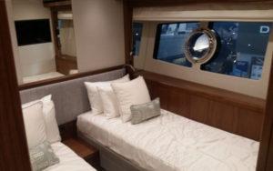 Sunseeker 95 Yacht Gästekabine