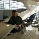 Sunseeker 95 Yacht Bar mit Grill auf der Flybridge