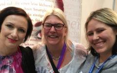 LBM18 Manuela Fritz, Ines Heindl-Beck und Louisa Beele
