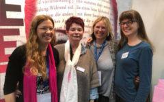 LBM18 Manuela Fritz mit Barbara Prill, Susanne Halbeisen und Bettina Kiraly 1